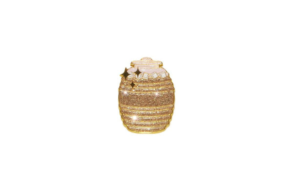 Golden Agua Fresca Jug Pin