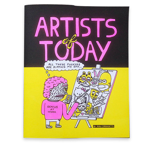 Artists Of Today Comic Book Zine