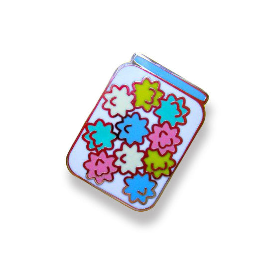 Konpeito Candy Jar Pin