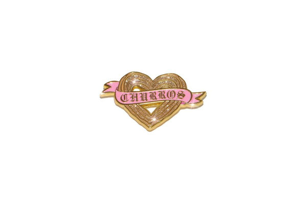 Churro Heart Pin