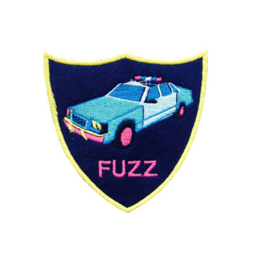 Fuzz Police Car Patch