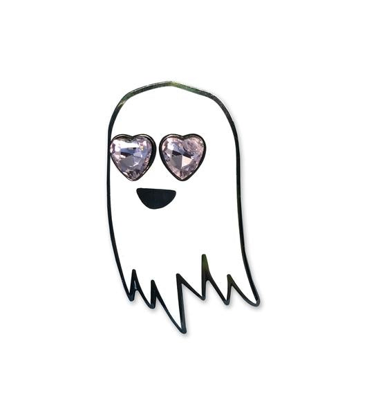 Deluxe Happy Ghost In Love Pin