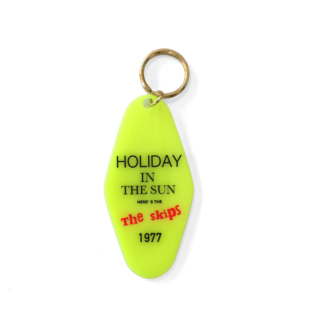 Holiday In the Sun Keychain
