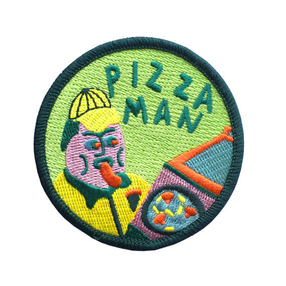 Pizza Man Patch
