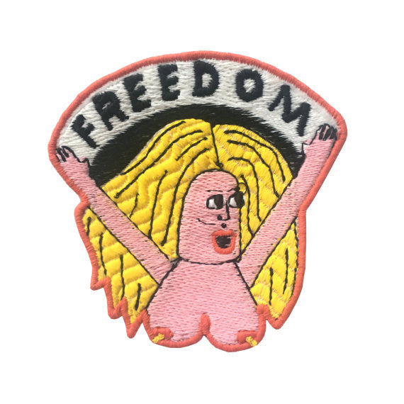 Freedom Iron On Patch