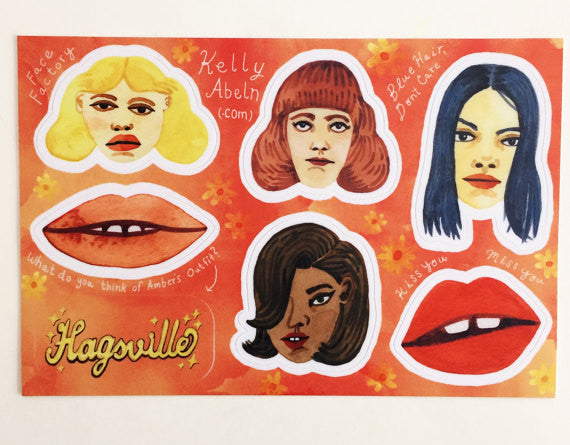Hagsville Sticker Sheet