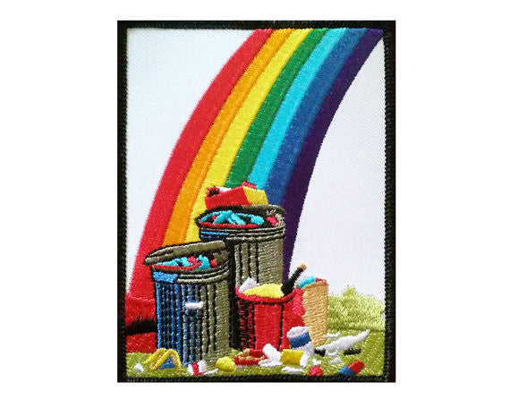 Trash Rainbow Patch