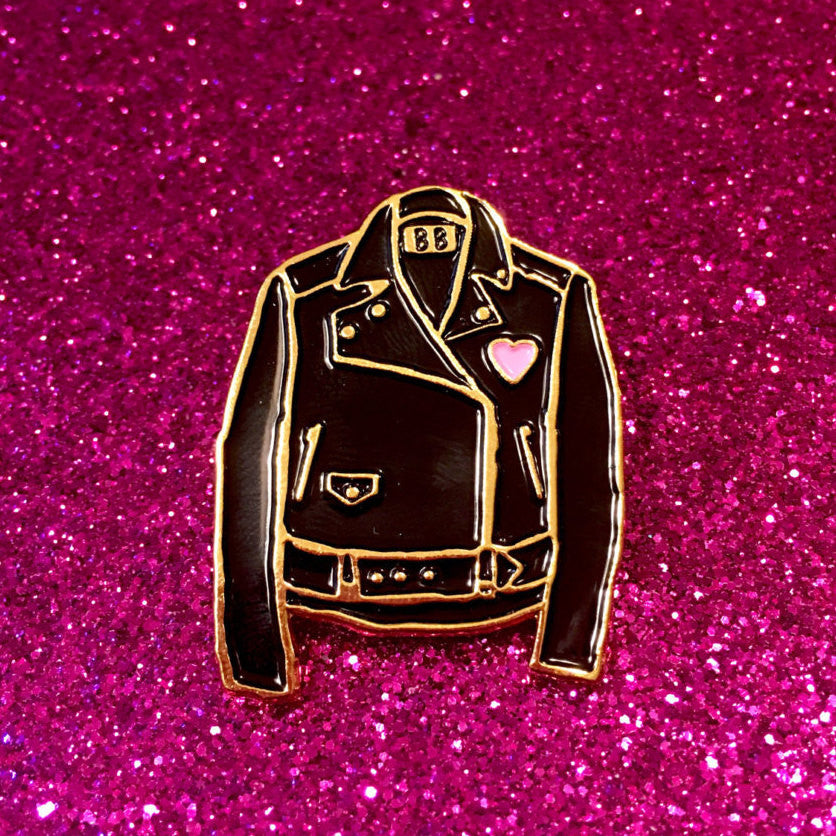 Classic Leather Jacket Pin