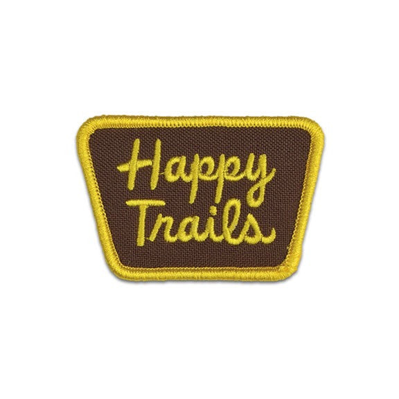 Happy Trails Patch