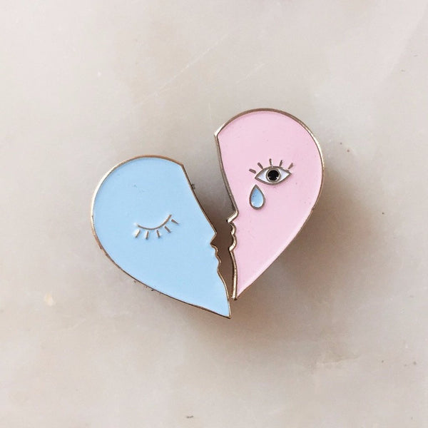 Tristan and Iseult Enamel Pin Set