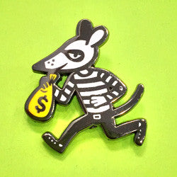 Money Mouse Pin