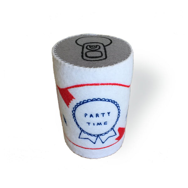 Party Time Plush Can