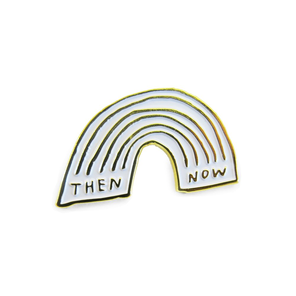 THEN & NOW Enamel Pin