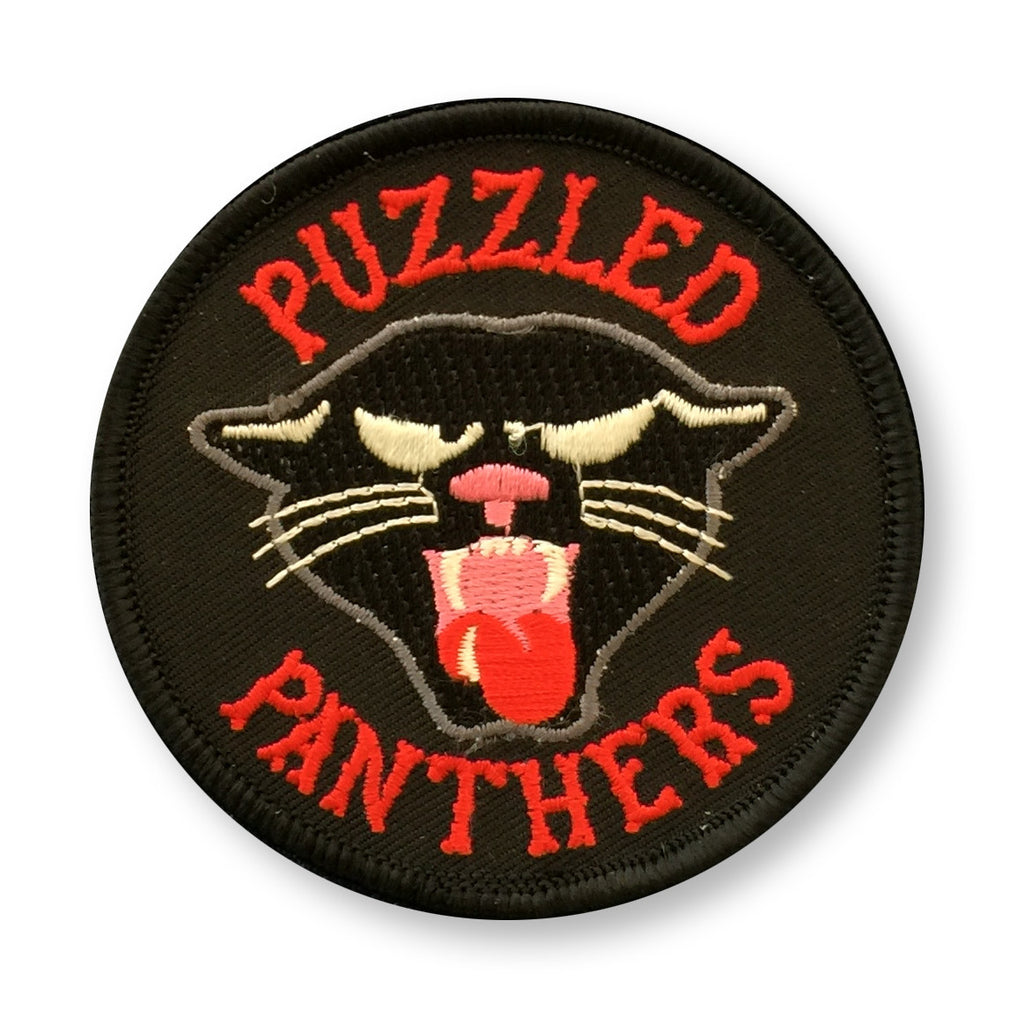 Puzzled Panthers Patch