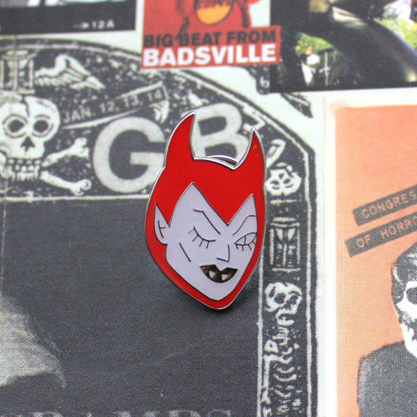 She-Devil Enamel Pin