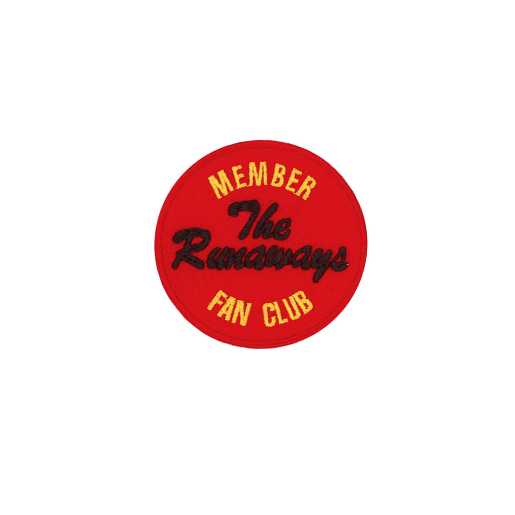 The Runaways Fan Club Patch