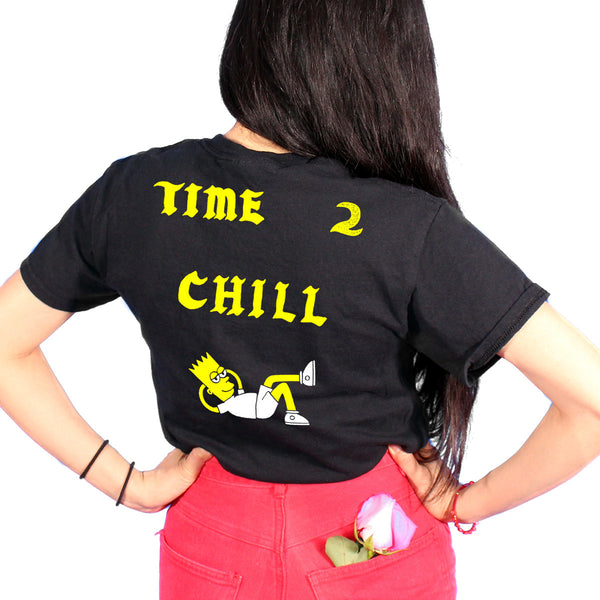 Time 2 Chill Shirt Black
