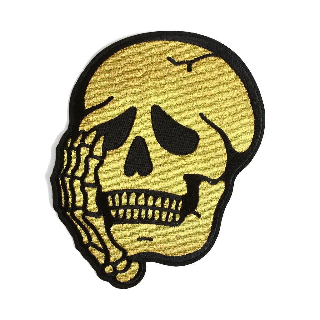 Worriers Skull - Back Patch