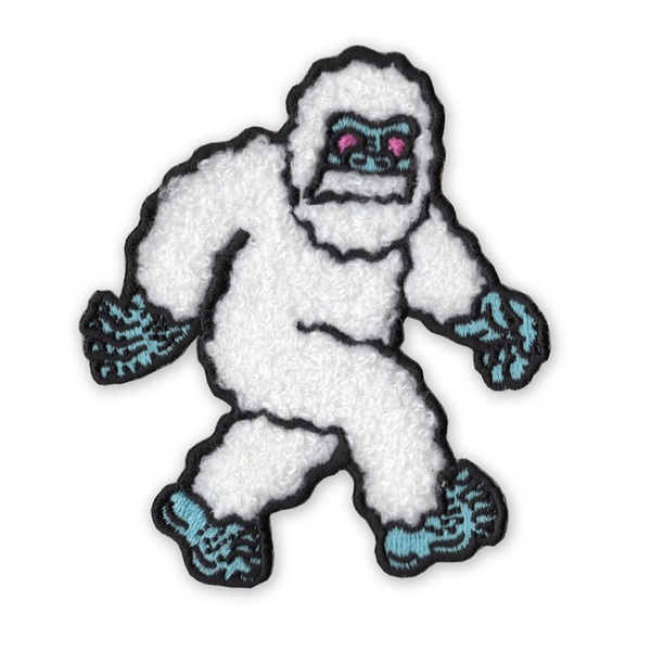 Yeti Chenille Iron-On Patch