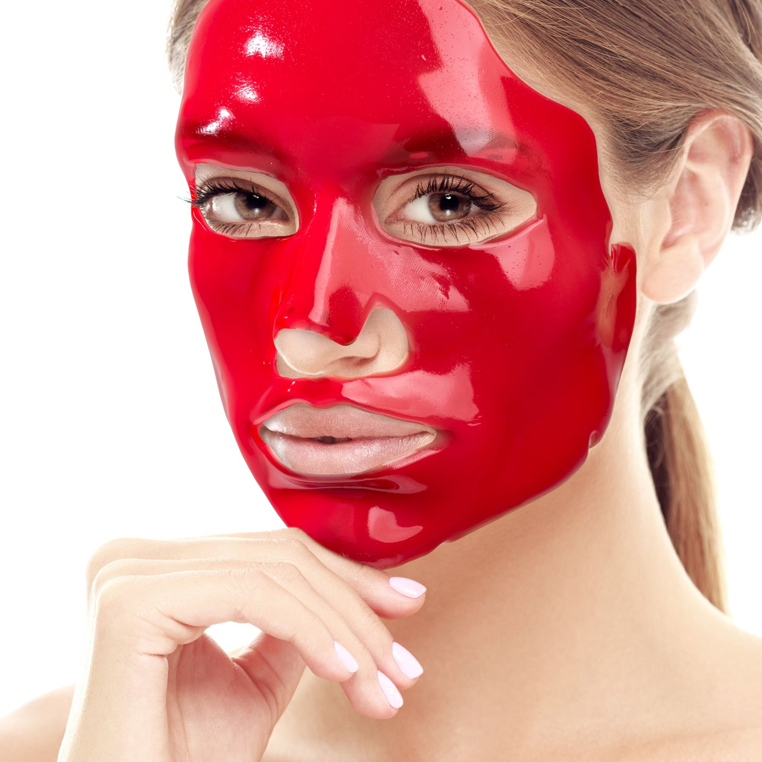 18-in-1 Red Caviar Anti-Aging Face & Eye Mask Set (1 Year Supply)