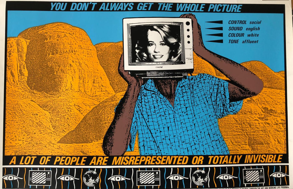 'You Don't Always Get the Whole Picture' Campaign Poster by Jayne Amble