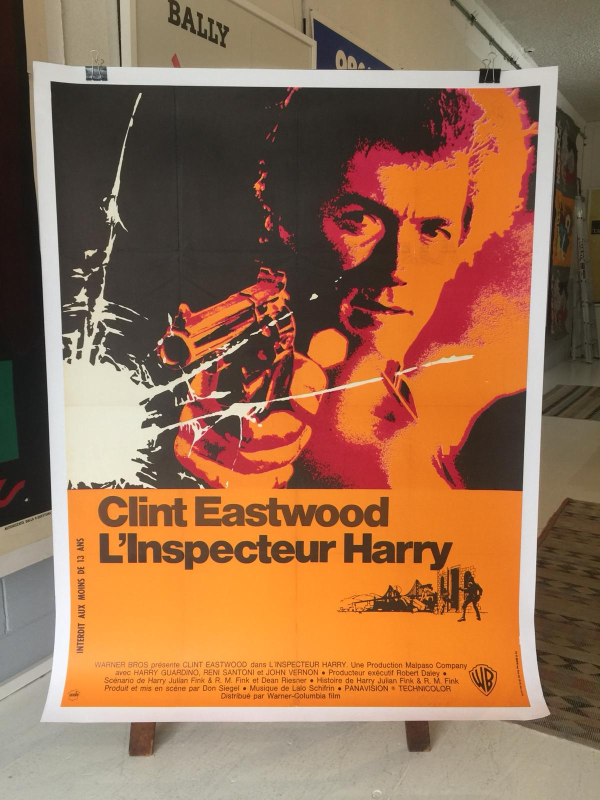 Dirty Harry Original Film Poster