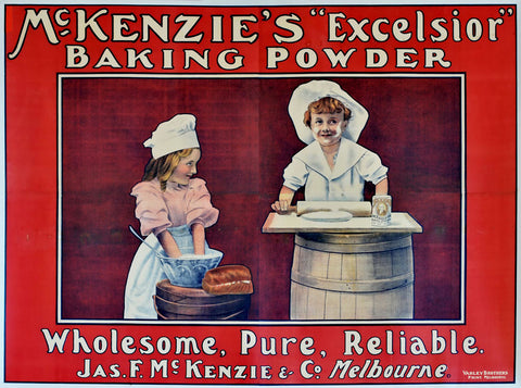 "McKenzie's ""Excelsior"" Baking Powder"