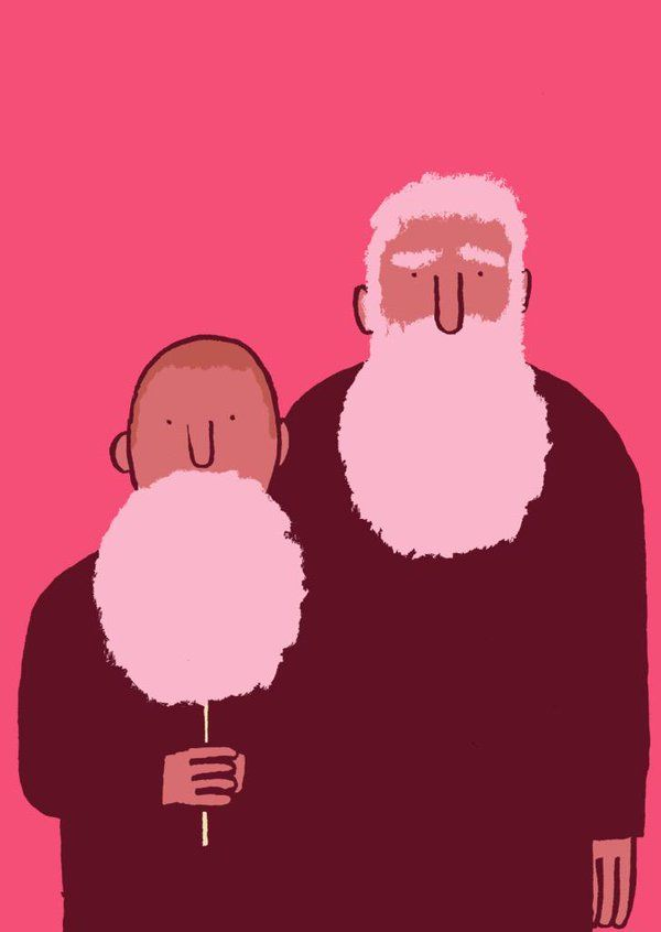 Beard by Jean Jullien