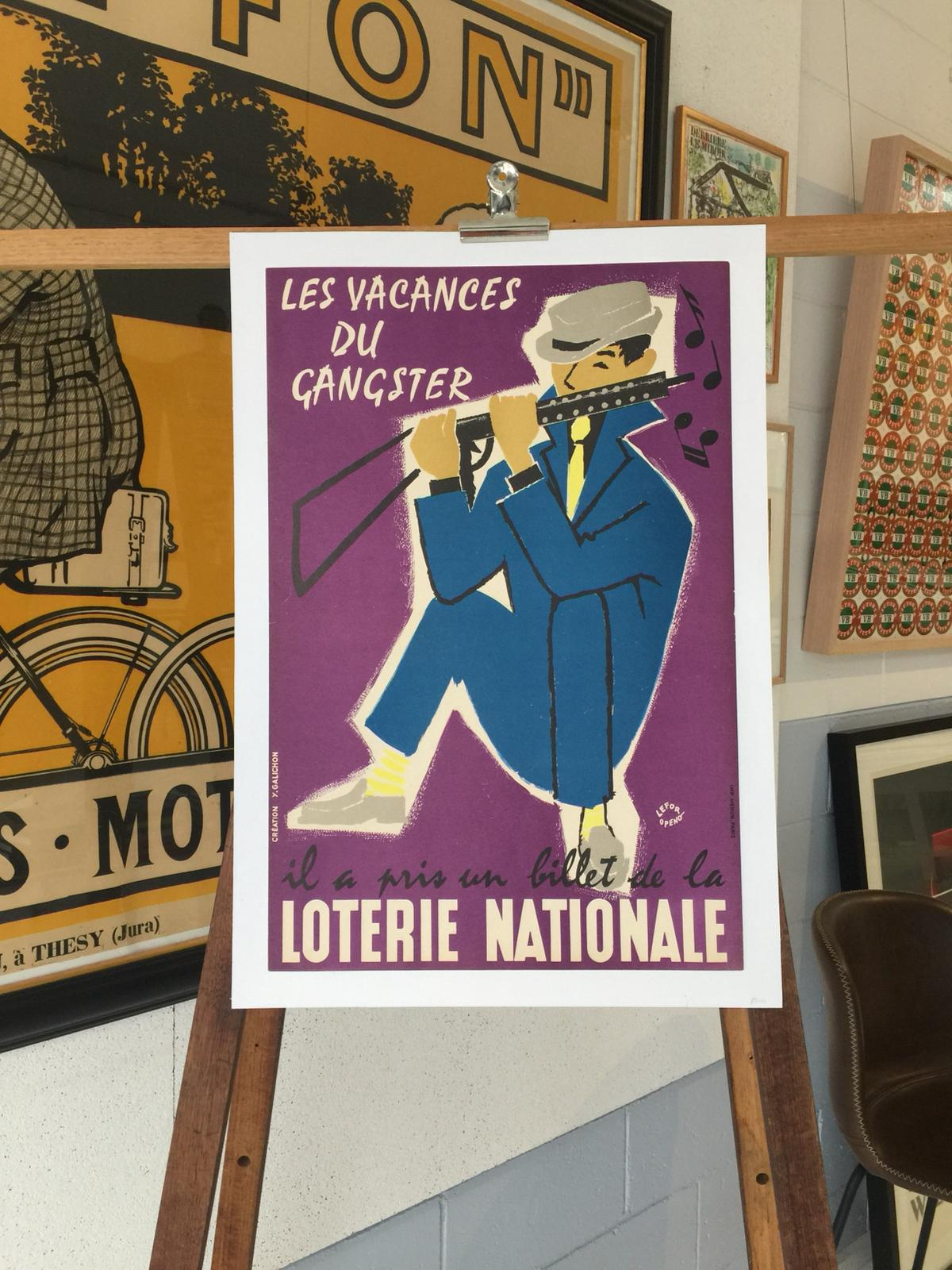 "Loterie Nationale ""Les Vacances Du Gangster"" by Lefor Openo"
