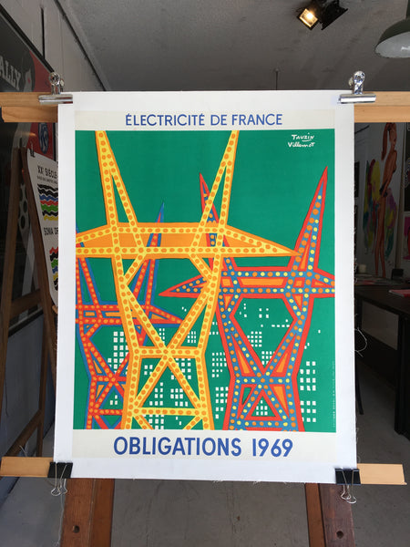 Electricite de France by Villemot