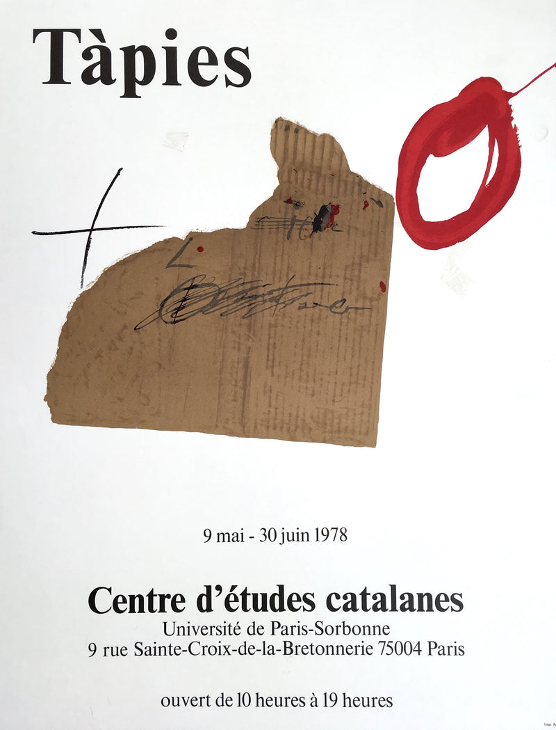 Tàpies, Centre d'études Catalanes