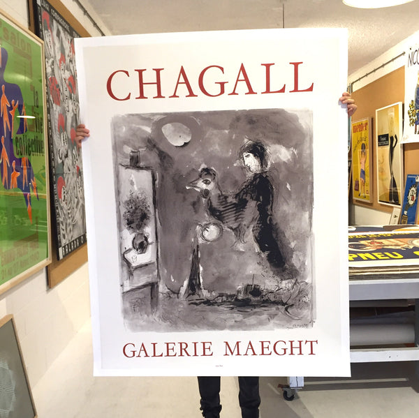 Chagall, Galerie Maeght by Marc Chagall