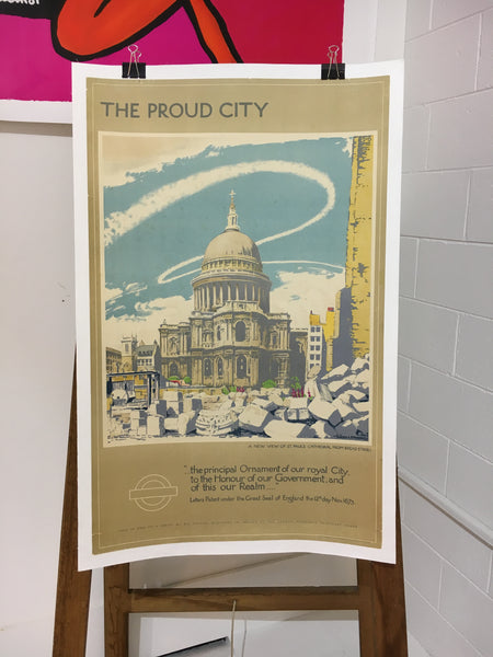 The Proud City by Walter E. Spadbery