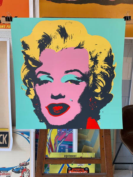 Marilyn Monroe by Andy Warhol