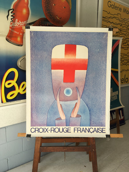 Croix Rouge Francaise by Jean Folon