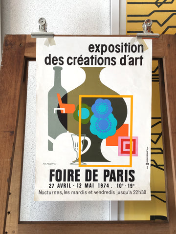 Foire de Paris by Fix Masseau