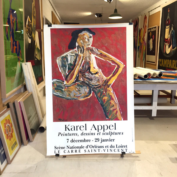 Karel Appel - Paintings, Drawings and Sculptures