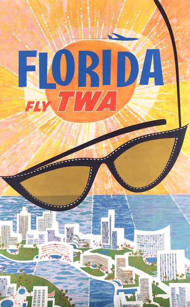 Fly TWA Florida by David Klein