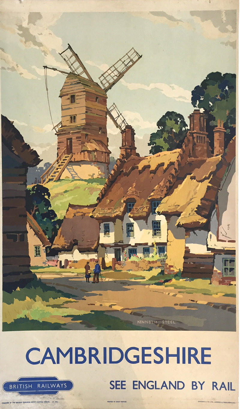 Cambridgeshire by Kenneth Steel