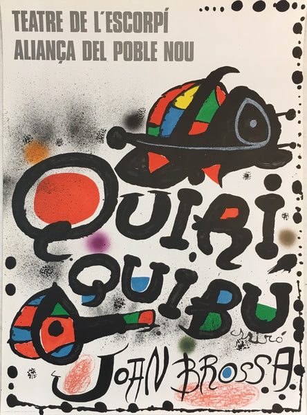 Quiri Quibu by Joan Miro