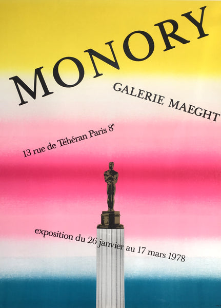 Monory 78, Galerie Maeght