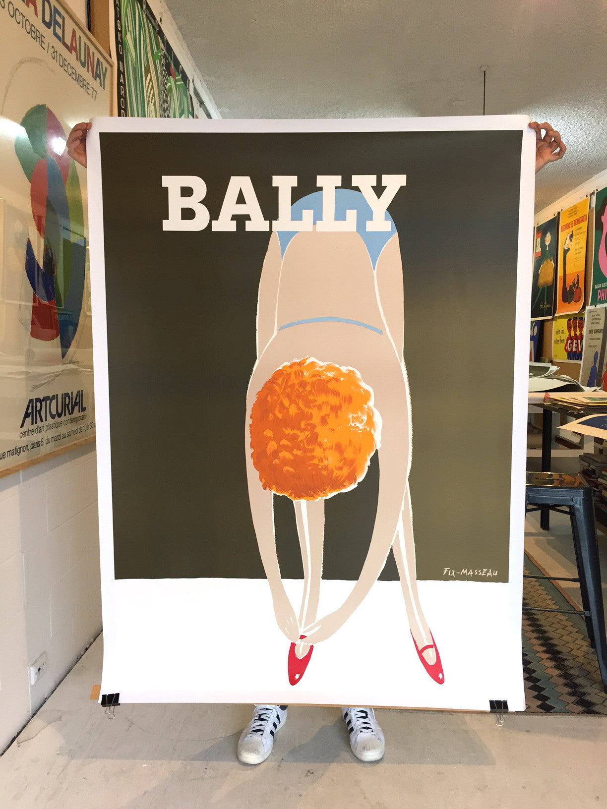 Bally Bend Over by Fix-Masseau