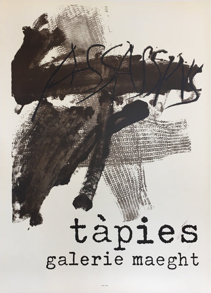 Tapies, Galerie Maeght