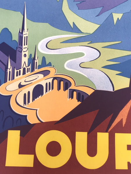 Lourdes by Hubert Mathieu