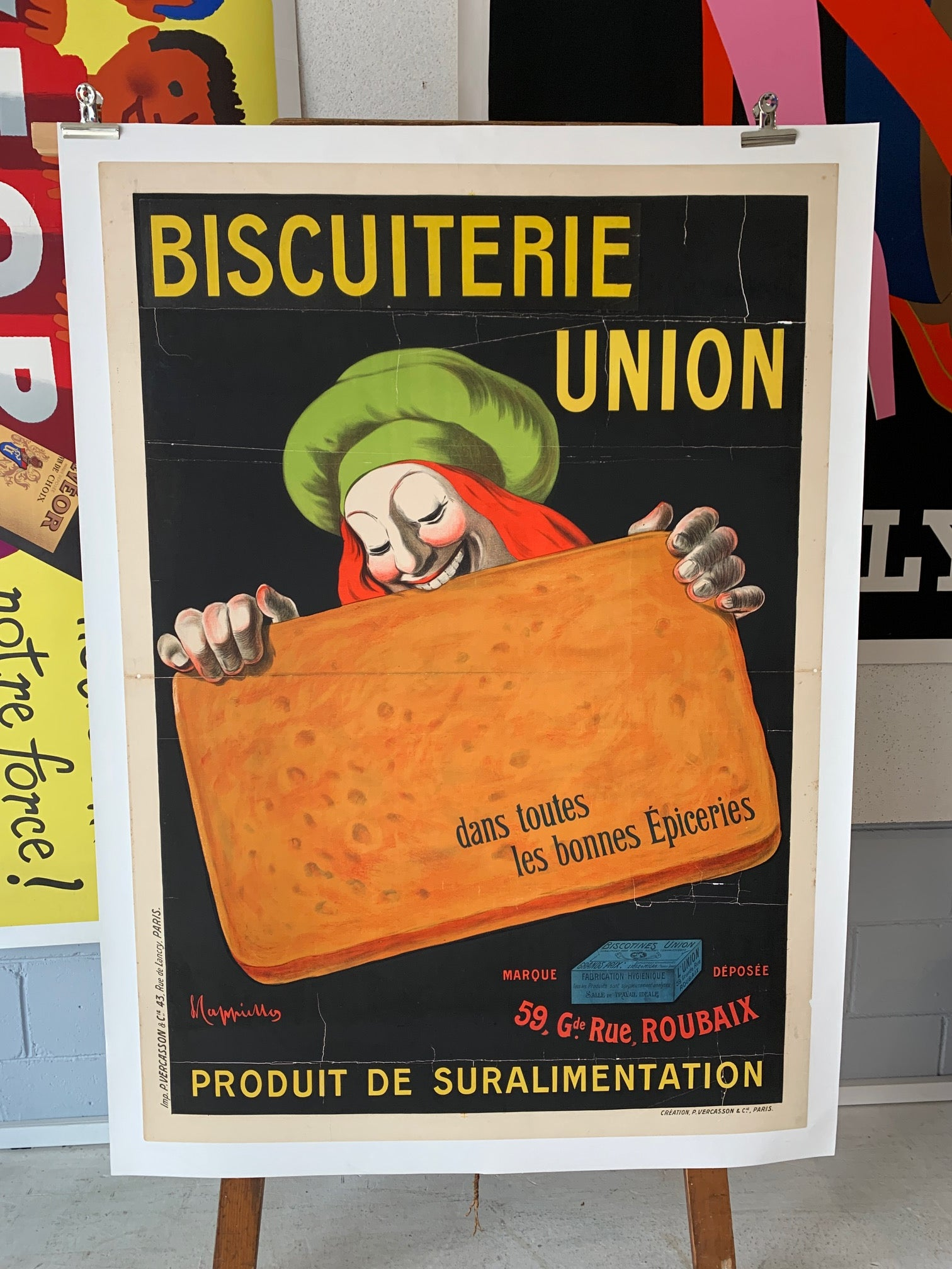 Biscuiterie Union by Cappiello
