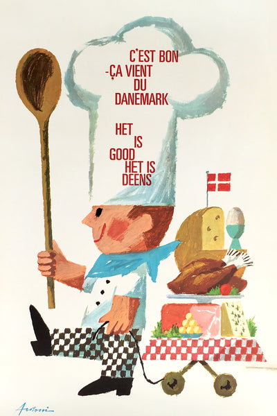 Danish Chef by Antoni