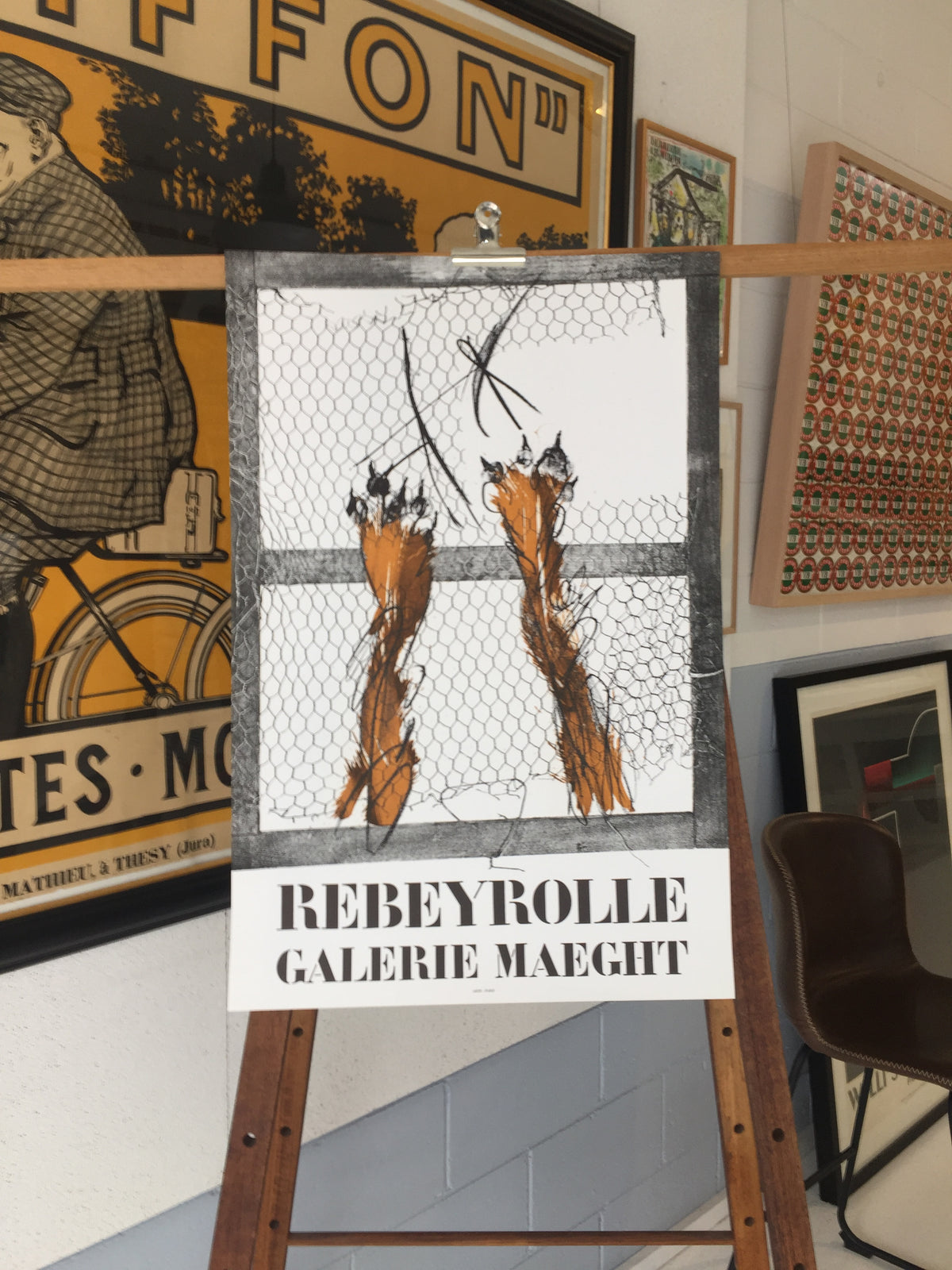Robbeyrolle, Galerie Maeght