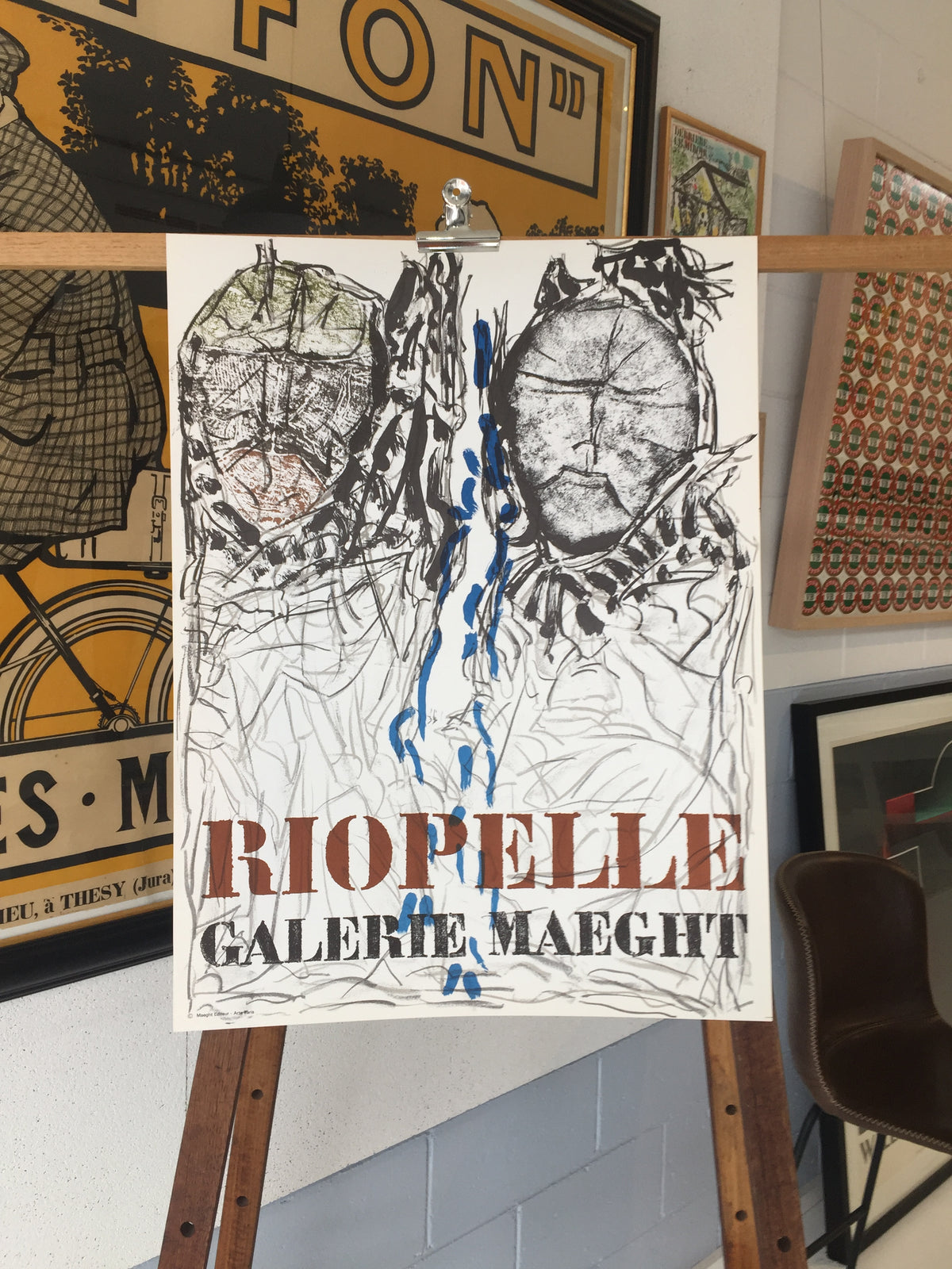 Riopelle, Galerie Maeght
