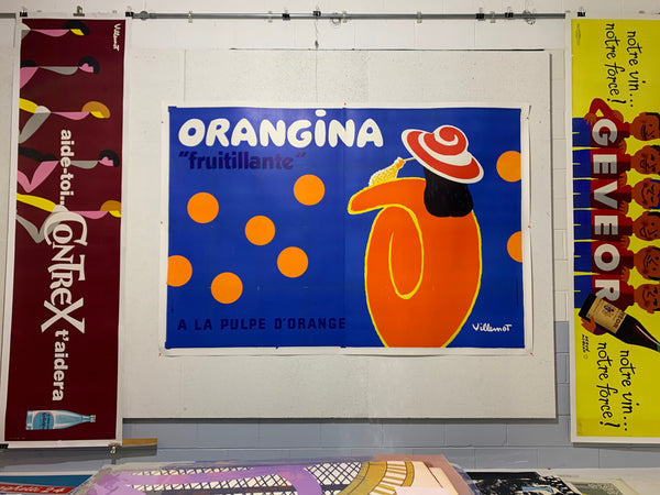 Orangina Fruitillante by Bernard Villemot