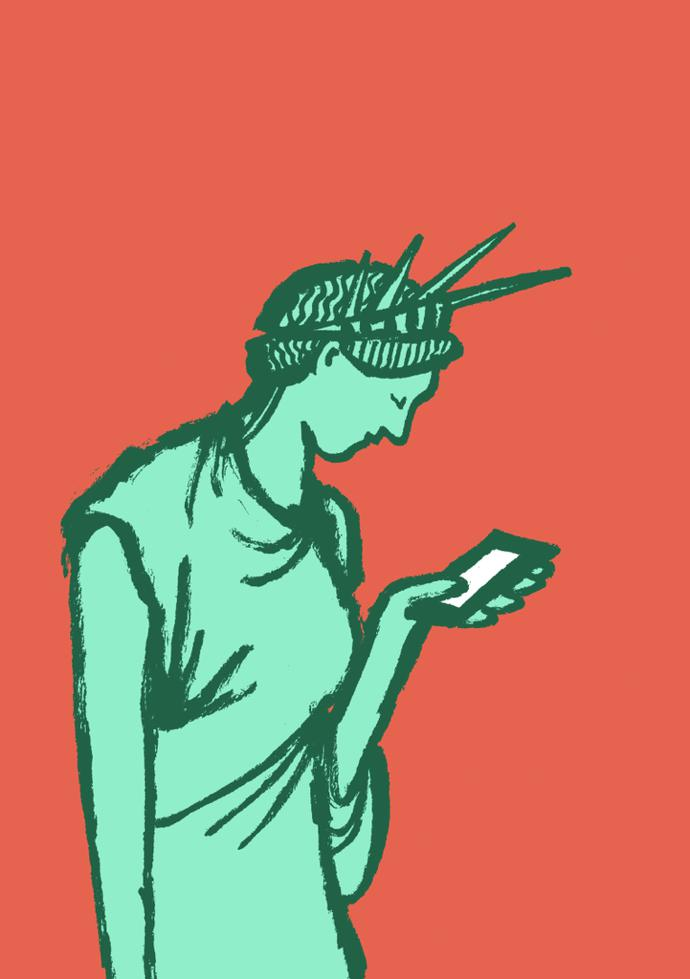 Liberty by Jean Jullien